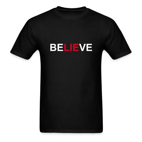 Be LIE ve - Men's T-Shirt