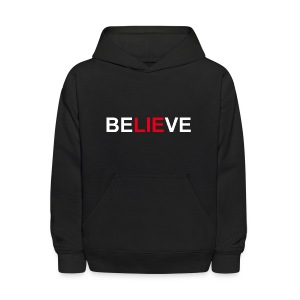 Be LIE ve - Kids' Hoodie