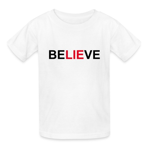 Be LIE ve - Kids' T-Shirt