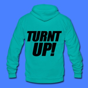 Turnt Up Zip Hoodies/Jackets - stayflyclothing.com - Unisex Fleece Zip Hoodie by American Apparel