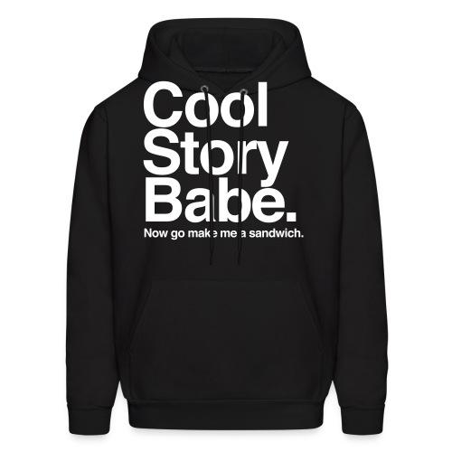 Cool Story ... Sandwhich? - Men's Hoodie
