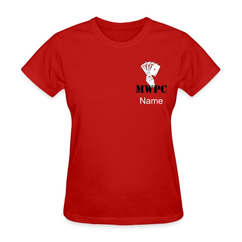 Ladies- Logo Back and Front - Women's T-Shirt