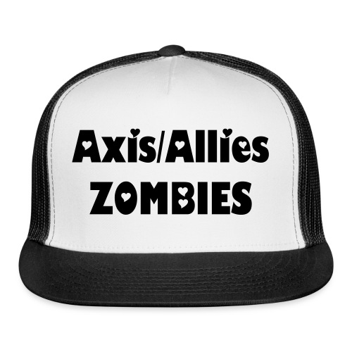 Axis & Allies Zombie baseball Cap - Trucker Cap