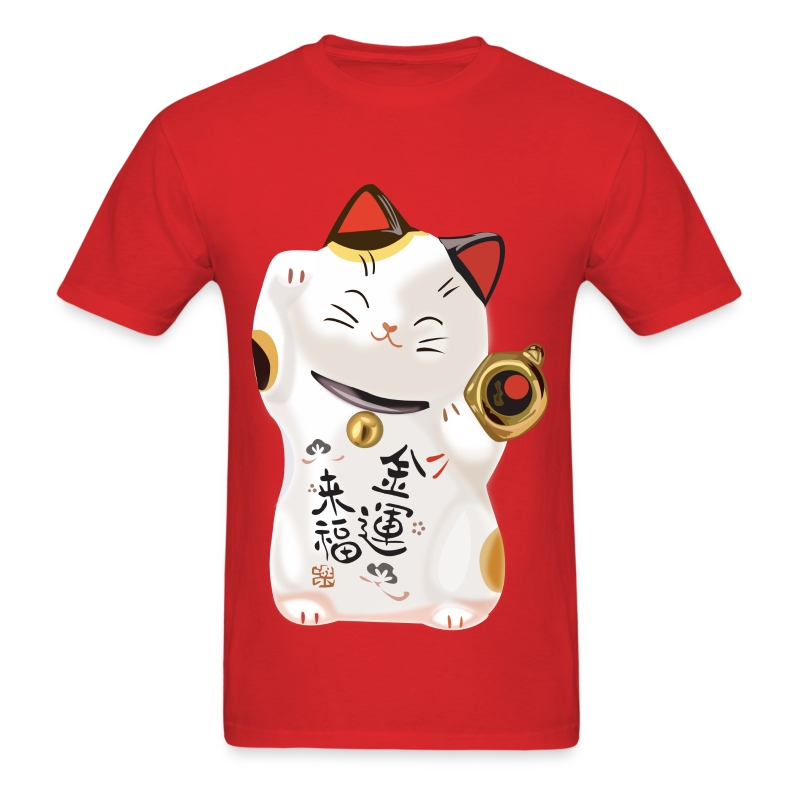 Lucky Cat - Men's T-Shirt