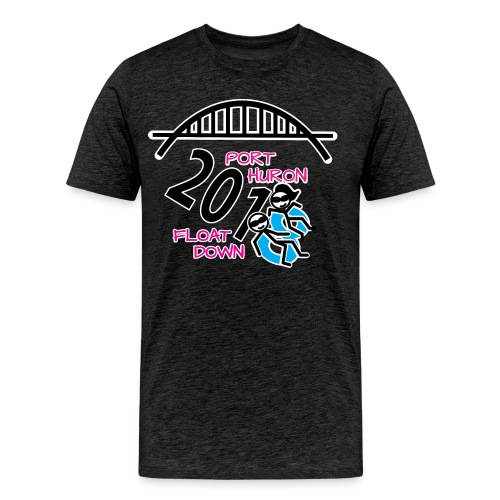 Port Huron Float Down 2018 Shirt - Color - Men's Premium T-Shirt