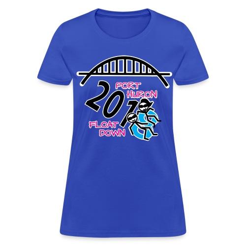 Port Huron Float Down 2018 Shirt - Color - Women's T-Shirt