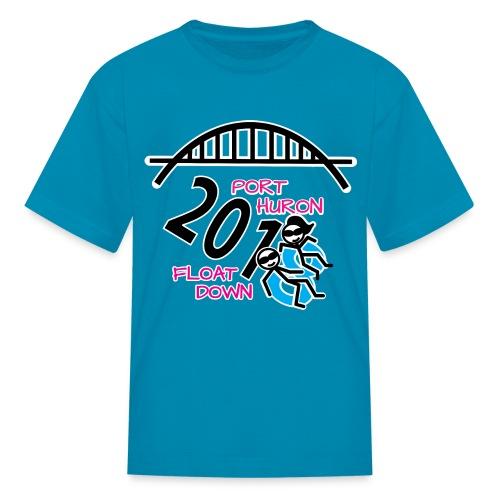 Port Huron Float Down 2018 Shirt - Color - Kids' T-Shirt