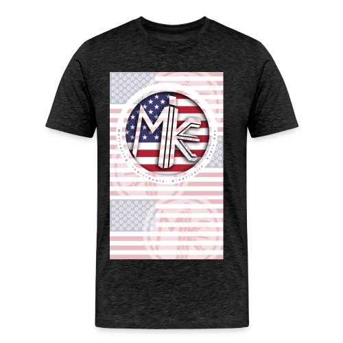 M.I.K.E. FLAG (Adults) - Men's Premium T-Shirt