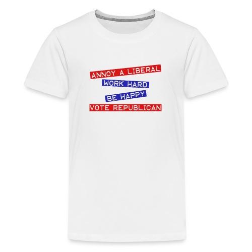 ANNOY A LIBERAL - Kids' Premium T-Shirt