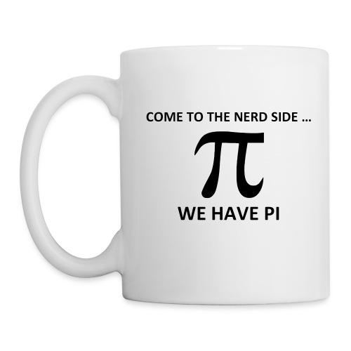 Math, Come to the nerd side, we have Pi - Coffee/Tea Mug