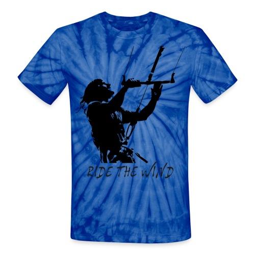 Ride the wind - Unisex Tie Dye T-Shirt