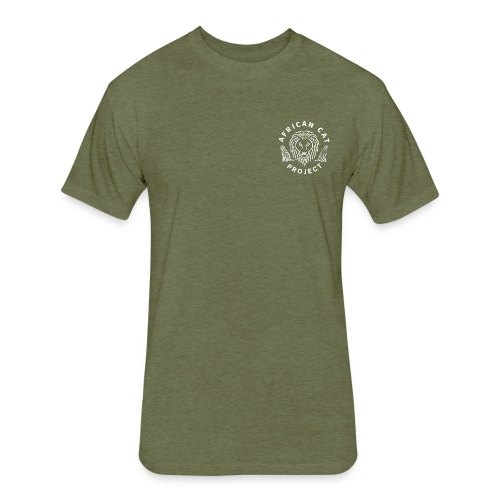 Mens Fitted ACP Shirt - Fitted Cotton/Poly T-Shirt by Next Level