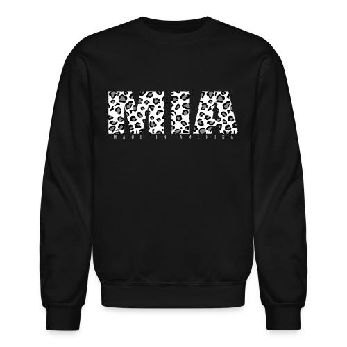 MIA White Leopard Crew - Crewneck Sweatshirt