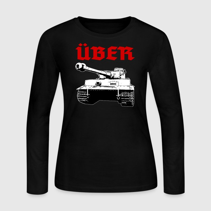 Über Tank Long Sleeve Shirts - Women's Long Sleeve Jersey T-Shirt