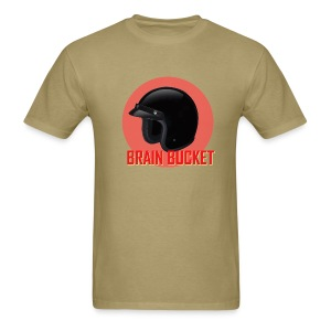 Brain Bucket - Men's T-Shirt