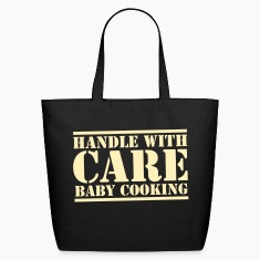 HANDLE with CARE BABY COOKING! Bags & backpacks