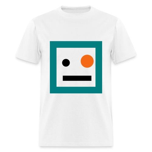 Dennis (White/Orange) - Men's T-Shirt