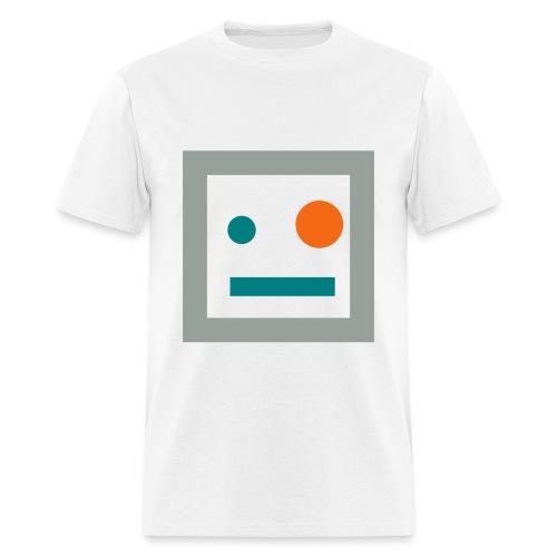 Dennis (White/Gray) - Men's T-Shirt