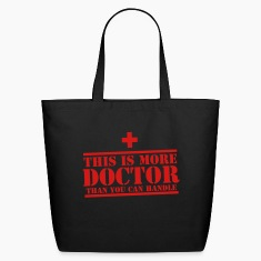 This is more DOCTOR than you can handle! Bags & backpacks