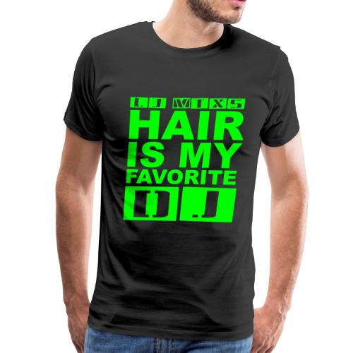 LJ MTX's Hair Neon Green - Men's Premium T-Shirt