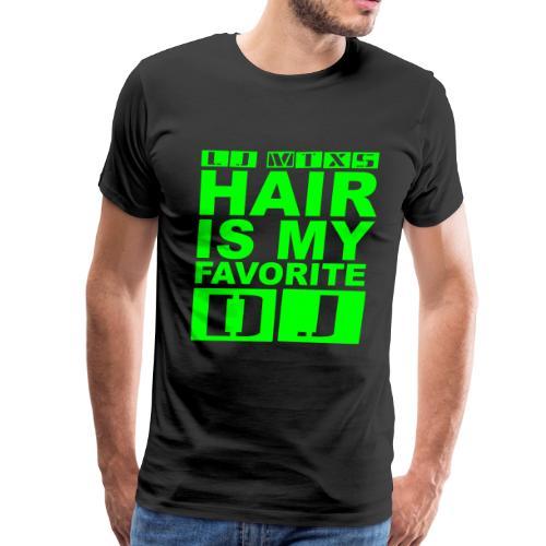LJ MTX's Hair Neon Green - Men's Premium T-Shirt