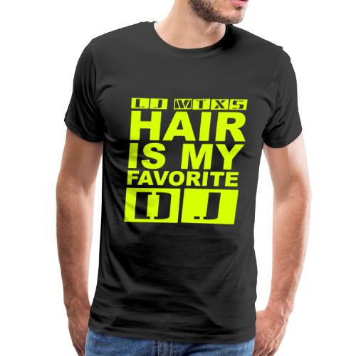 LJ MTX's Hair Neon Yellow - Men's Premium T-Shirt