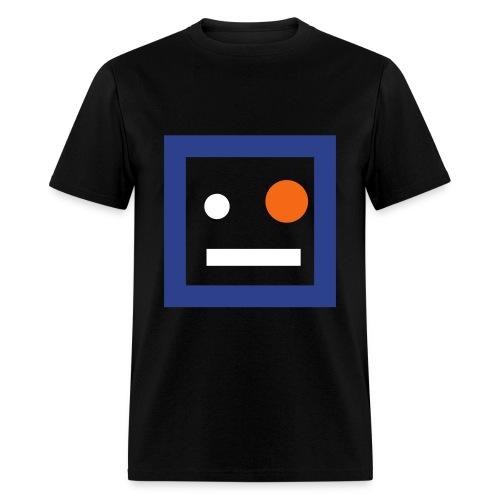 Dennis (Black/Orange) - Men's T-Shirt