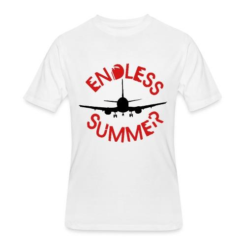 ENDLESS SUMMER BEACH  - Men's 50/50 T-Shirt