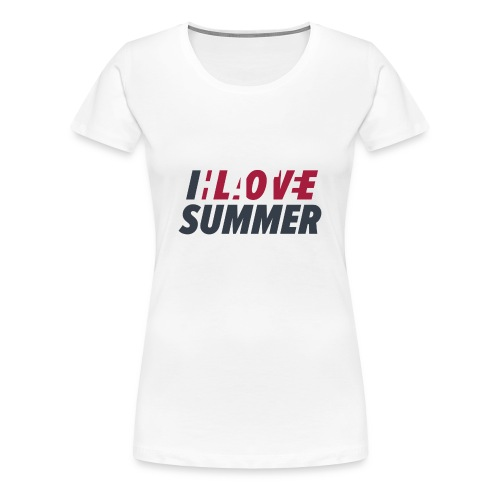 I Love/Hate Summer - Women's Premium T-Shirt
