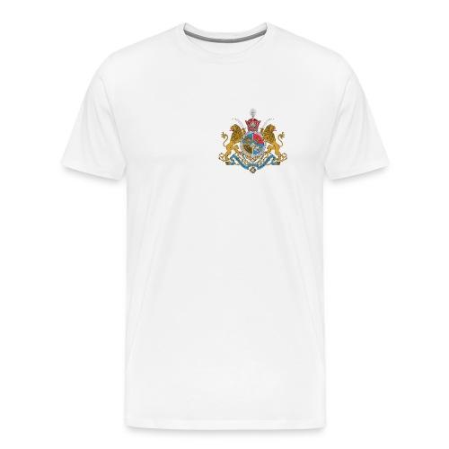 Imperial Coat of Arms of Iran - Men's Premium T-Shirt