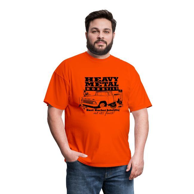 Heavy Metal Hobbyist Tee Black Graphic