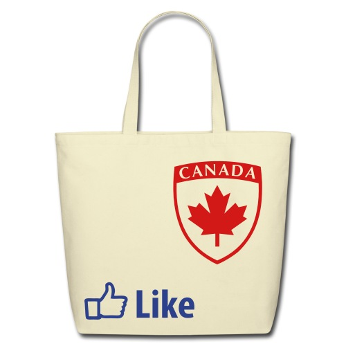 Like Canada - Eco-Friendly Cotton Tote