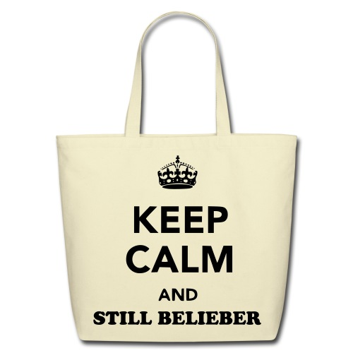 KeepCalm Bag - Eco-Friendly Cotton Tote