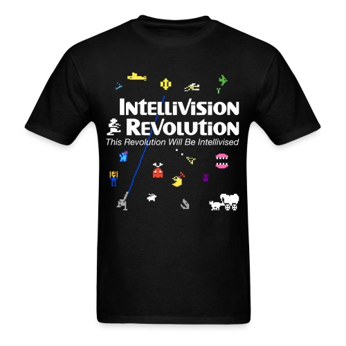 Intellivision Revolution 2018 shirt - Men's T-Shirt
