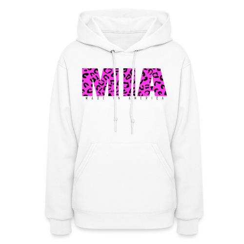 Womens MIA Pink Leopard Hoodie - Women's Hoodie