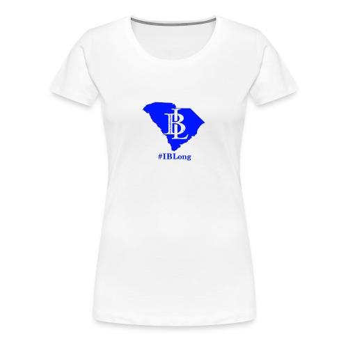 Womens SC #IBLong tee (front logo) - Women's Premium T-Shirt