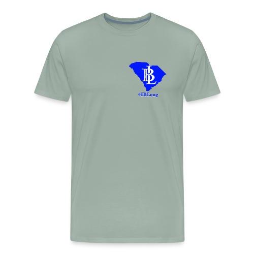 Men's SC #IBLong tee (front & back logo) - Men's Premium T-Shirt