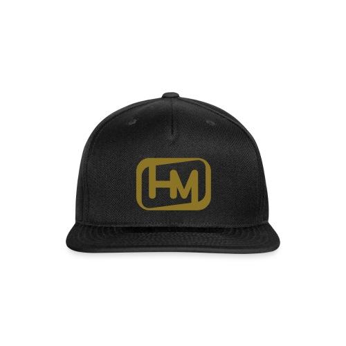Snap Back HMSS Outline Logo METALLIC GOLD - Snap-back Baseball Cap
