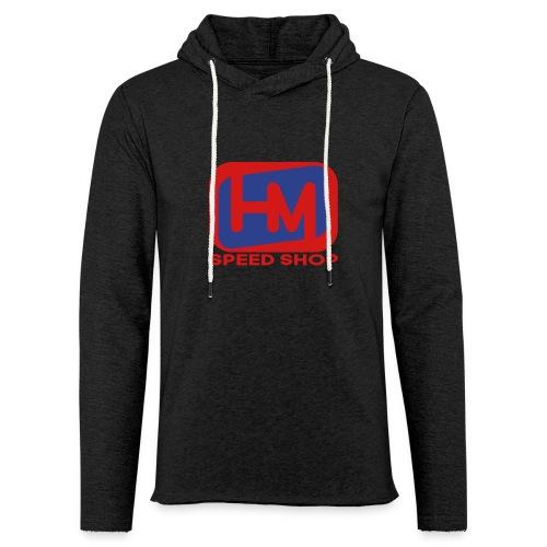 HM Speed Shop Pullover Lite Hoodie - Unisex Lightweight Terry Hoodie