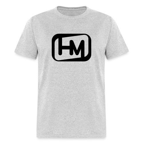 HM Speed Shop Outline Logo BLACK - Men's T-Shirt