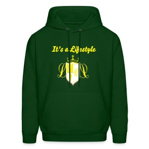 Livin Lovely United Men's Hoodie[It's a Lifestyle]  - Men's Hoodie