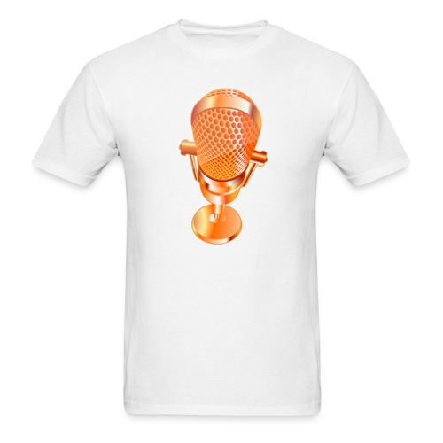 Golden Microphone - Men's T-Shirt