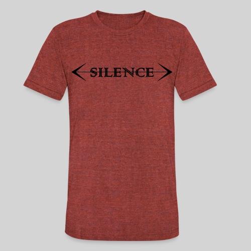Silence T-shirt - Unisex Tri-Blend T-Shirt