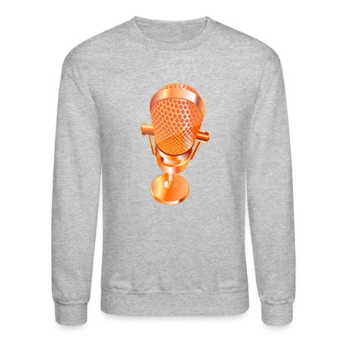 Golden Microphone - Crewneck Sweatshirt