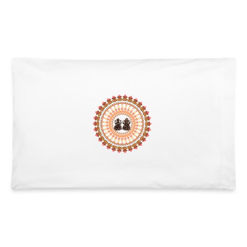 Ganesha & Lakshmi Pillowcase  - Pillowcase