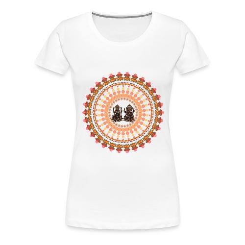 Lord Ganesha & Goddess Lakshmi T-Shirt 1 - Women's Premium T-Shirt