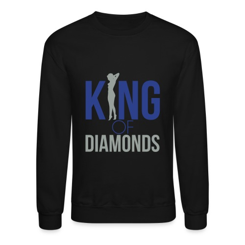 King Of Diamonds Crewneck - Crewneck Sweatshirt