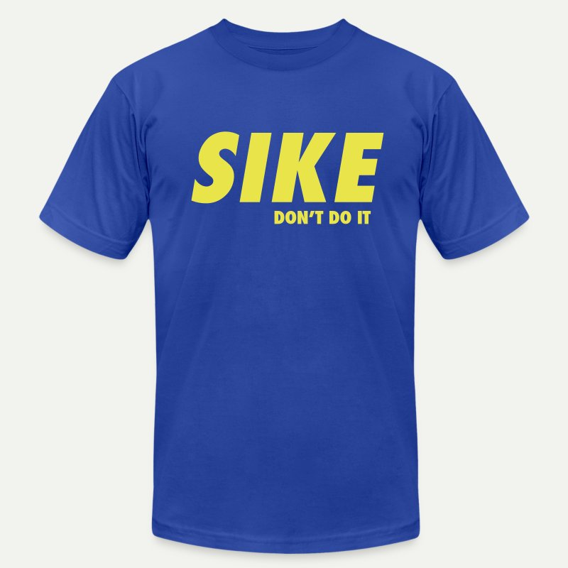 SIKE - Men's T-Shirt by American Apparel