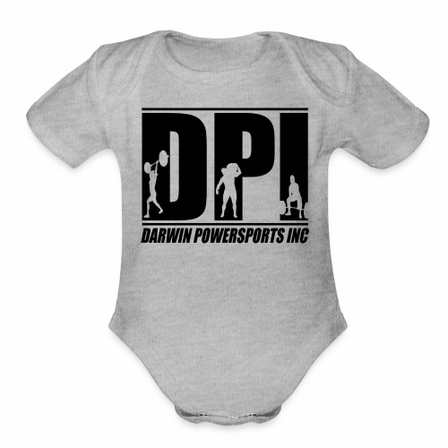 DPI Front, NT Strong Back - Baby   - Organic Short Sleeve Baby Bodysuit