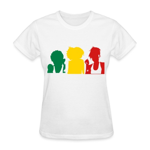 Three Sistas Ladies T-Shirt - Women's T-Shirt